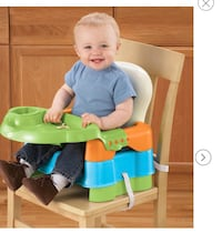 baby's safety 1st sit snack & go Booster seat