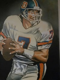 football player canvas painting Riverdale, 30274