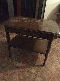 Real wood brown table Richmond Hill, L4S 1X4
