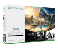 MICROSOFT CONSOLE XBOX ONE S 1 TB + GIOCO ASSASSIN'S CREED ORIGINS + RAINBOW SIX