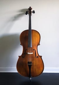 Cello with soft case and bow Langley, V3A