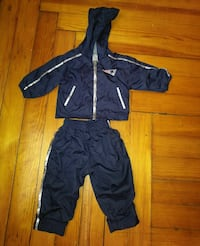 New England Patriots windbreaker outfit