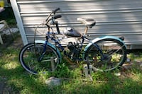blue and black motorized bicycle Bunnell, 32110