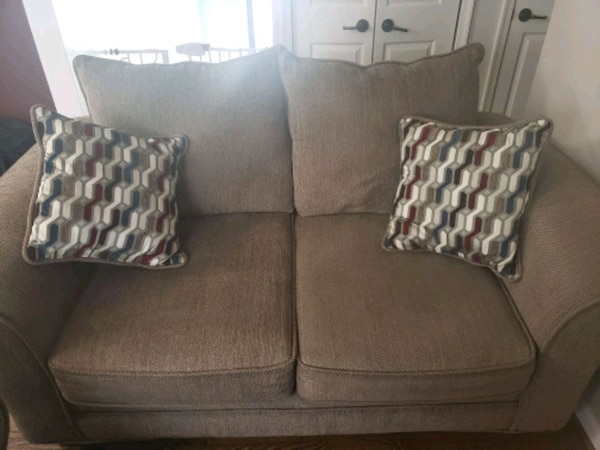Perfect and NEW love seat!!