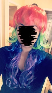 Colorful wig for Halloween  Stockton, 95205