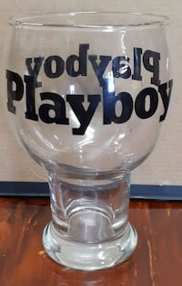 Collectible beer glass.