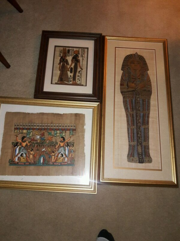 Egyptian deco,statutes, pictures,etc made in Egypt c861f371-63d6-4349-aeda-bcf079ea5eb8
