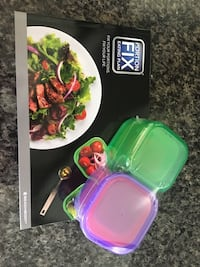 21 Say Fix Meal Plan and Containers Leduc, T9E 0L4