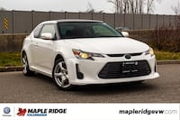 2014 Scion tC DUAL SUNROOF, LEATHER, SUPER LOW KM, SINGLE OWNER!