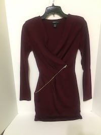 Burgundy Tunic/ Dress Langley, V3A 0E6