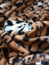 5 yrds - Super soft bangle tiger faux fur fabric St. Louis Park, 55426