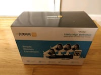 Defender Wireless HD 1080p 4-channel 1TB DVR Security System Severna Park