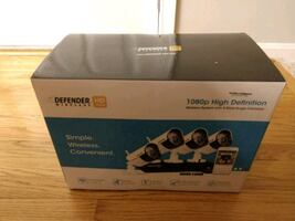 Defender Wireless HD 1080p 4-channel 1TB DVR Security System