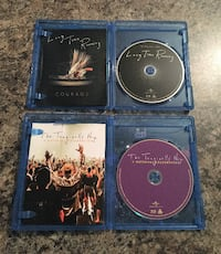 The Tragically Hip Blu Ray Discs