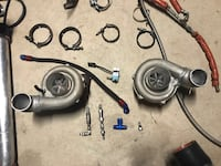 two gray turbo chargers Mission, 78574