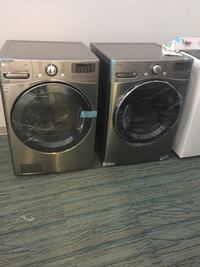 "LG 27"" FRONTLOAD WASHER AND DRYER SET GREY **new out the box** Barrie, L4N 9A3"
