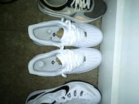 white on white Air Force ones and black and white Nikes Baltimore, 21225