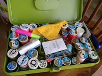Sewing box with lots of thread all for $10 North Fort Myers, 33903