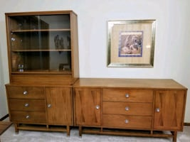 Genuine original Stanley Buffett and side table
