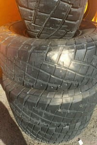 gray vehicle wheel and tire Muscoy, 92407