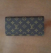 marrón de Louis Vuitton cartera larga Gijón, 33202