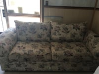 white and blue floral fabric loveseat El Paso, 79925