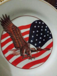 Porcelain collectible plate