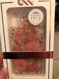 White and pink floral iphone case Newberry, 32669