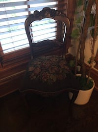 Antique needlepoint chair Franklin, 37064