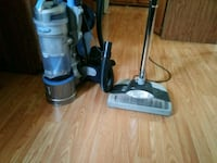gray and blue upright vacuum cleaners Clarksville, 47129