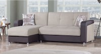 HARMONY SECTIONAL SOFA BED WITH STORAGE ADJUSTABLE Clifton, 07013