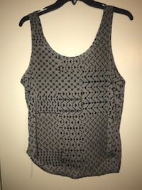 gray and black scoop-neck tank top Canyon, 79015