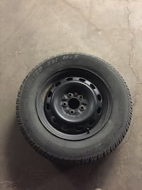 Set of winter tires.. threads like 40-50% only selling for 180$ for the whole set of 4 Edmonton, T5M 2V8