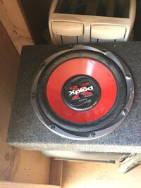 black and red Pioneer subwoofer Bakersfield, 93313