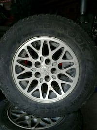 "15"" Jeep snow tires London, N6B"