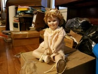 PORCELAIN SHIRLEY TEMPLE DOLL  Baltimore, 21206