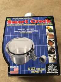 Smart crock 5 ounce bowl for pets.