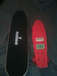 """1 rimable/penny/board and 1 31"""" regular skateboard new"""