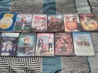 $2 for each DVD or $10 for all Ama, 70031