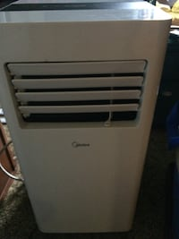 White and gray portable air cooler Coquitlam, V3E 3H1