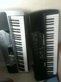 black and white electronic keyboard New Carrollton, 20784