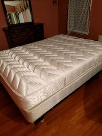 Mattress with base and frame West Springfield, 22152