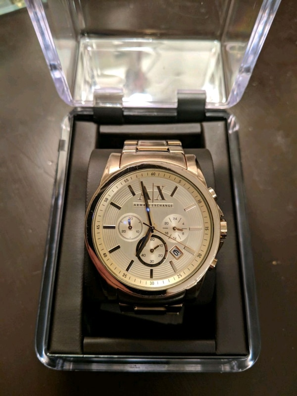 Watch Armani Exchange Stainless Steel Gold Coat