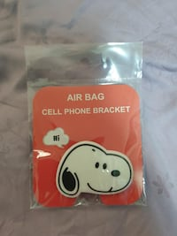 Cute Snoopy 3D Airbag Silicone Holder