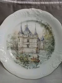 Decorative collectible plate, France Laval, H7G 2W7