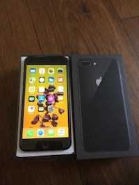 AT&T 64 GB space grey iPhone 8 Plus perfect condition