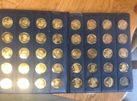 Gold plated collection point of US presidents Lakewood, 80215