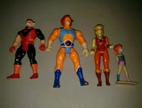 Vintage Thundercats Action Figures