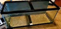 rectangular black wooden framed glass-top coffee table Concord, 28027