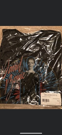 David Bowie crop top